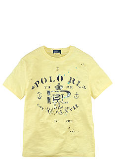 Ralph Lauren Childrenswear Logo Nautical Graphic Tee Boys 8-20
