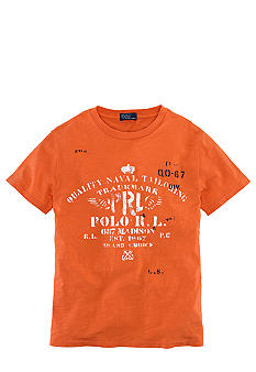 Ralph Lauren Childrenswear Nautical Graphic Tee Boys 8-20