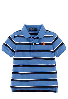 Ralph Lauren Childrenswear Striped Mesh Polo Boys 8-20