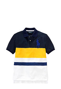 Ralph Lauren Childrenswear Bold Striped Polo Boys 8-20