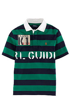 Ralph Lauren Childrenswear Short Sleeved Striped Polo Boys 8-20