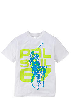 Ralph Lauren Childrenswear Graphic PRL Active Tee Boys 8-20