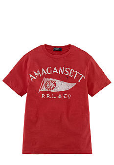Ralph Lauren Childrenswear Vintage Screenprint Tee Boys 8-20