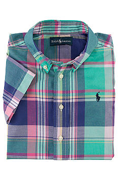 Ralph Lauren Childrenswear Blake Madras Shirt Boys 8-20
