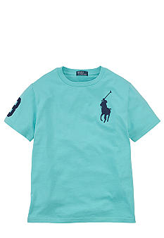 Ralph Lauren Childrenswear Sporty Patch Tee Boys 8-20