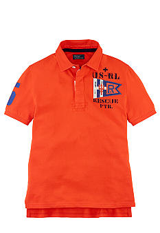 Ralph Lauren Childrenswear Rescue Patrol Graphic Rugby Boys 8-20