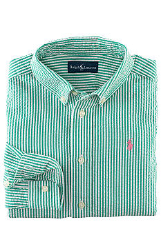Ralph Lauren Childrenswear Woven Seersucker Button-Down Boys 8-20