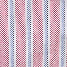 Boys Button Down Shirts: Red Multi Ralph Lauren Childrenswear 7 YD OXF STRIPE-LS B