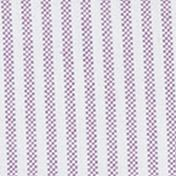 Boys Button Down Shirts: Purple Multi Ralph Lauren Childrenswear 6 OXFORD-LS OXD STR