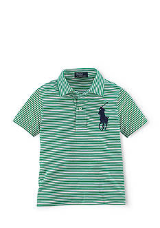 Ralph Lauren Childrenswear Striped Big Pony Polo Shirt Boys 8-20