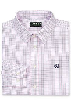 Lauren Ralph Lauren Dress Apparel Tattersal Dress Shirt Boys 8-20