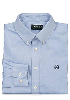 Lauren Ralph Lauren Dress Apparel Pinpoint Oxford Dress Shirt Boys 8-20