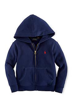 Ralph Lauren Childrenswear Long Sleeve Full-Zip Hoodie Boys 8-20