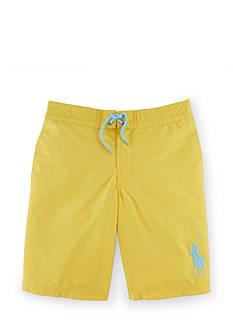 Ralph Lauren Childrenswear Solid Boardshort Boys 8-20