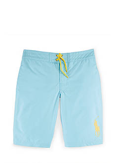 Ralph Lauren Childrenswear Solid Boardshort Boys 8-20