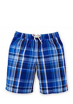 Ralph Lauren Childrenswear Plaid Boardshort Boys 8-20
