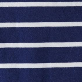 Ralph Lauren Boys: Dark Cobalt Ralph Lauren Childrenswear 12 STRIPE VN-T-SHIRT DARK COBALT MULTI