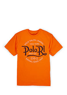 Ralph Lauren Childrenswear Crewneck Graphic Tee Boys 8-20