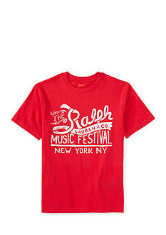 Ralph Lauren Childrenswear Music Festival Graphic Tee Boys 8-20