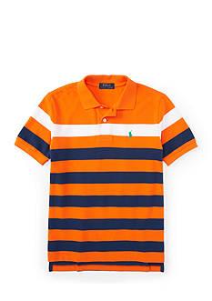 Ralph Lauren Childrenswear Stripe Polo Shirt Boys 8-20