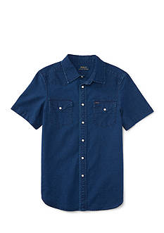 Ralph Lauren Childrenswear Western Oxford Shirt Boys 8-20