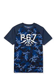 Ralph Lauren Childrenswear Jersey Camo Tee Boys 8-20