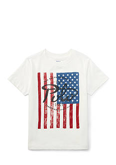 Ralph Lauren Childrenswear Jersey Flag Tee Boys 8-20