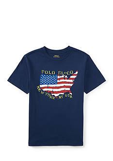 Ralph Lauren Childrenswear Graphic T-Shirt Boys 8-20