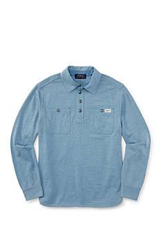 Ralph Lauren Childrenswear Jersey Workshirt Boys 8-20