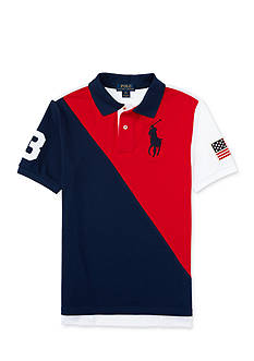 Ralph Lauren Childrenswear Flag Polo Boys 8-20