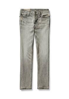 Ralph Lauren Childrenswear Slim-Fit Distressed Jeans Boys 8-20