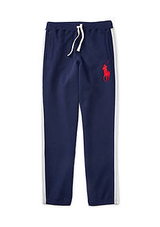 Ralph Lauren Childrenswear Striped Fleece Pants Boys 8-20