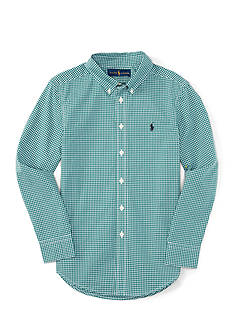 Polo Ralph Lauren Poplin Shirt Boys 8-20