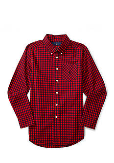 Ralph Lauren Childrenswear Poplin Plaid Top Boys 8-20