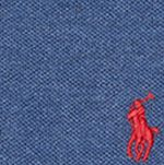 Boys Button Down Shirts: Navy Heather Polo Ralph Lauren Short Sleeve Polo Boys 8-20