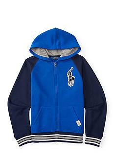 Ralph Lauren Childrenswear Graphic Fleece Hoodie Boys 8-20