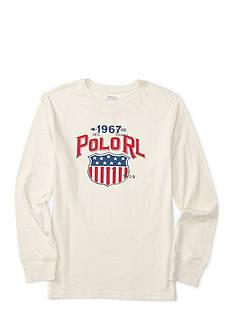 Ralph Lauren Childrenswear Jersey Graphic Tee Boys 8-20