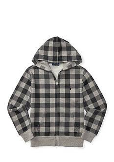 Ralph Lauren Childrenswear Patterned Fleece Hoodie Boys 8-20