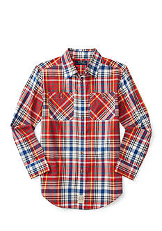 Ralph Lauren Childrenswear Twill Work Shirt Boys 8-20