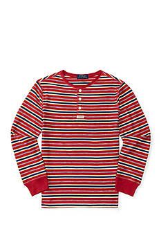 Ralph Lauren Childrenswear Jersey Henley Shirt Boys 8-20