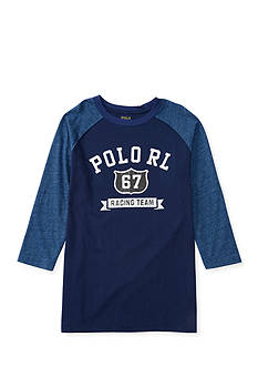 Ralph Lauren Childrenswear Jersey Baseball Tee Boys 8-20