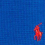 Boys T-shirts: Sapphire Star Ralph Lauren Childrenswear Waffle-Knit Cotton-Blend Tee Boys 8-20