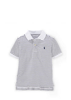 Polo Sport Short Sleeve Striped Polo Boys 4-7