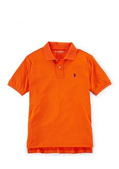 Polo Sport Short Sleeve Solid Polo Boys 8-20