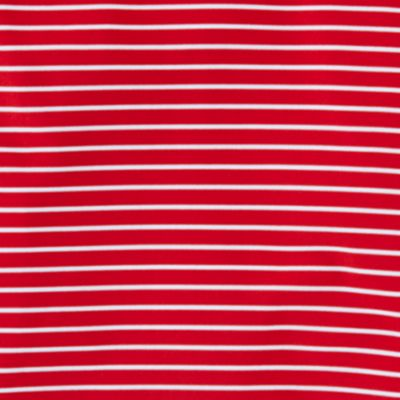 Boys Polo Shirts: Red Multi Polo Sport 7/25 STRIPE POLO RED