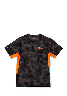 Polo Sport Micro Dot-Camo Top Boys 8-20
