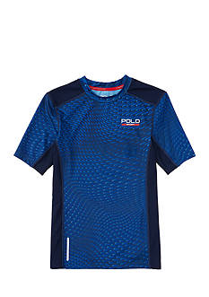 Polo Sport Compression Printed Shirt Boys 8-20