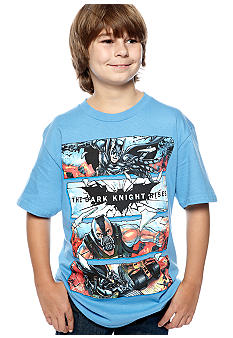 Trevco Inc. Shattered Glass Dark Knight Tee Boys 8-20