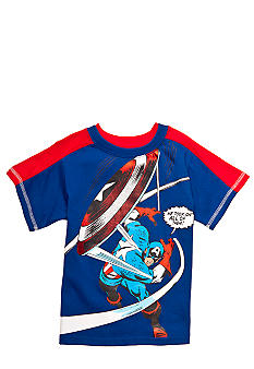 Marvel Captain America Tee Boys 4-7