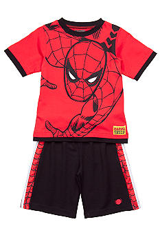 Marvel Spiderman 2-Piece Short Set Boys 4-7